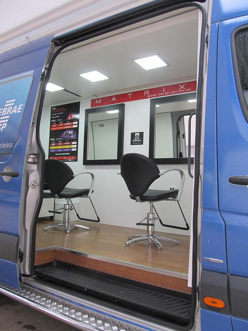 A Eco X transformou furgão Mercedes-Benz Sprinter em ...